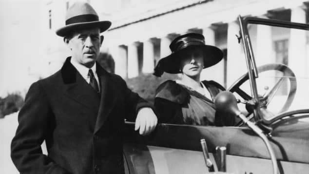 Prince Andrew and Princess Alice of Greece and Denmark