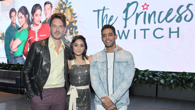 The cast of the Netflix Original Film The Princess Switch