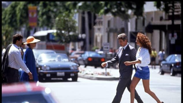 Richard Gere and Julia Roberts