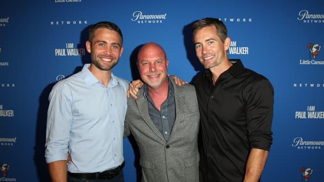 Rob Cohen, Caleb Walker and Cody Walker