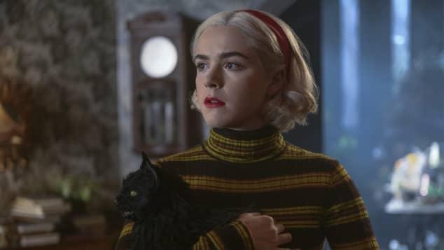 Kiernan Shipka in 'The Chilling Adventures of Sabrina'