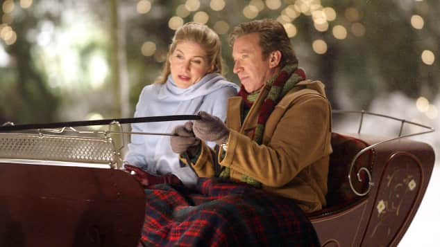 Sleigh ride in The Santa Clause 2