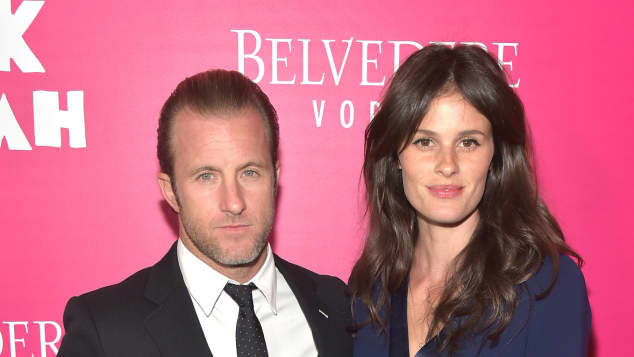 """Scott Caan and Kacy Byxbee at the premiere of """"Rock The Kasbah"""""""