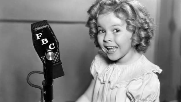 Shirley Temple As A Child