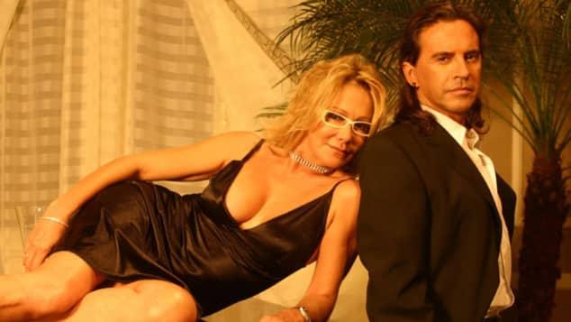 Soledad Silveyra y Osvaldo Laport