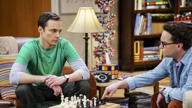 TBBT The Big Bang Theory Sheldon Cooper Leonard Hofstadter Johnny Galecki Jim Parsons Rollentausch