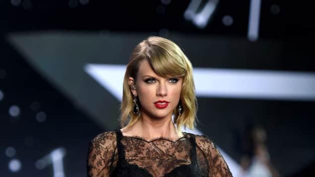 Taylor Swift Underwear on stage