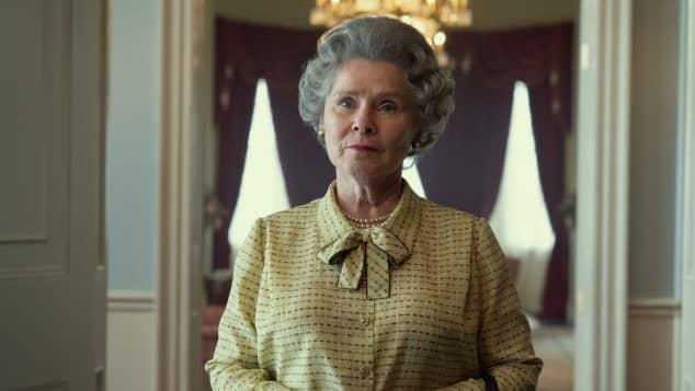 Imelda Staunton on 'The Crown'
