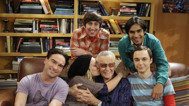 The Big Bang Theory Cast on Set