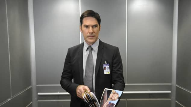 """Thomas Gibson as """"Aaron Hotchner"""" in 'Criminal Minds'"""