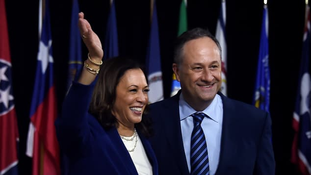 U.S. Vice President Kamala Harris: Meet Her Husband