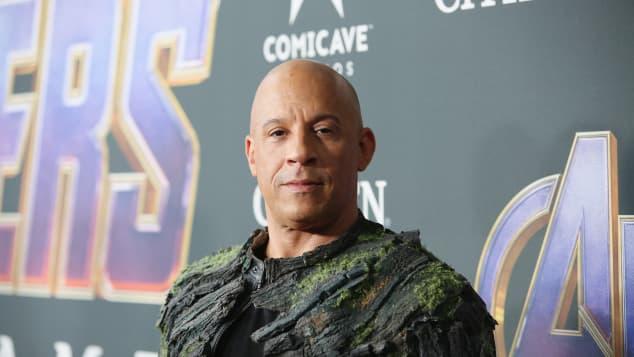 """Vin Diesel dice que """"Groot"""", de 'Guardians of the Galaxy', lo ayudó a superar la muerte de Paul Walker"""