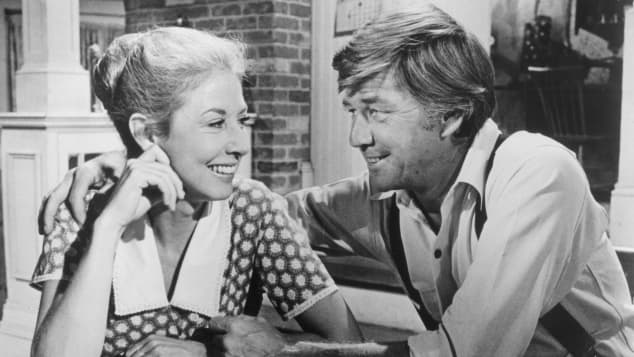 Michael Learned on 'The Waltons'