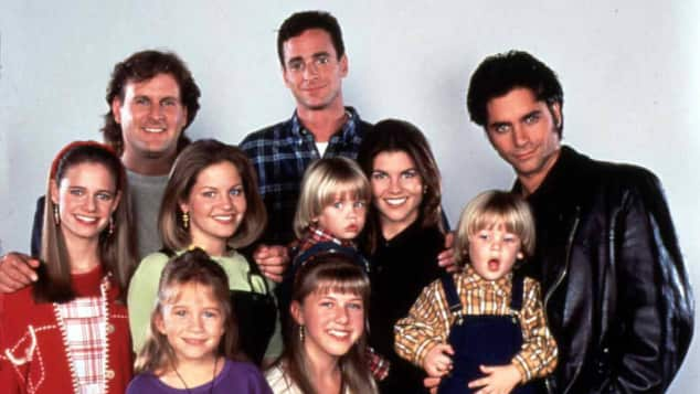 """Die Familie """"Tanner"""" aus """"Full House"""" 1994"""