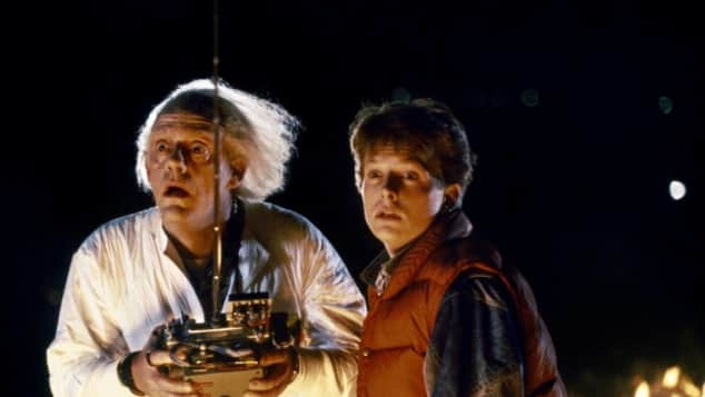 Michael J. Fox y Christopher Lloyd