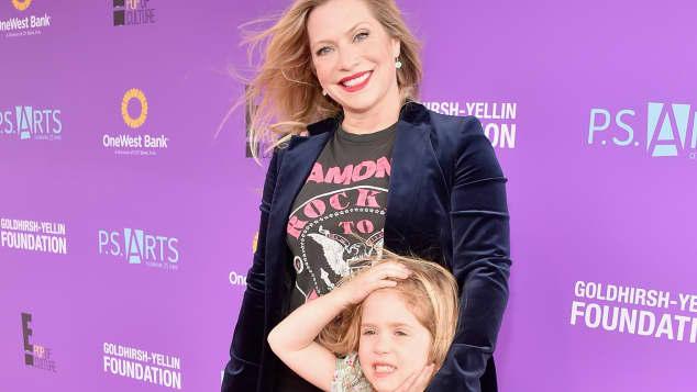 Emily Procter y su hija Philippa