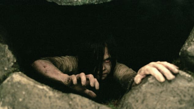 Daveigh Chase en una escena de la película 'The Ring'