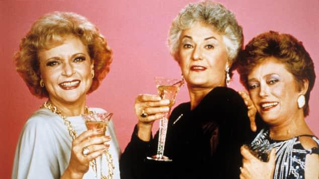 Betty White, Bea Arthur y Rue McClanahan en 'The Golden Girls'