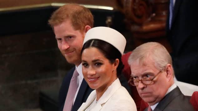 El gran cambio en el sitio web real para el príncipe Andrew, Harry y Meghan