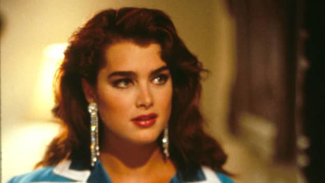 Brooke Shieds in the 1989 movie Brenda Starr.