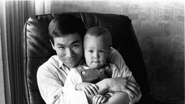 Bruce Lee y Brandon Lee