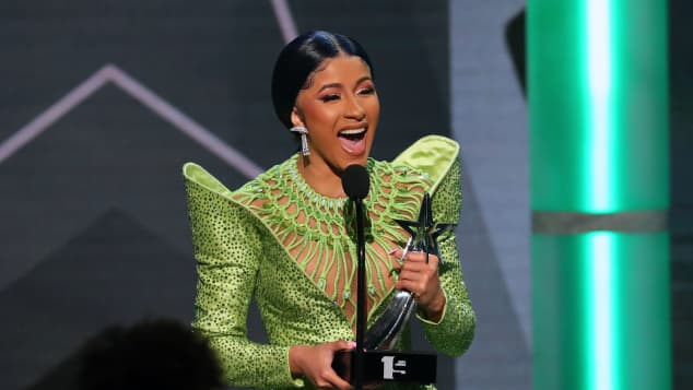 Cardi B at the 2019 BET Awards