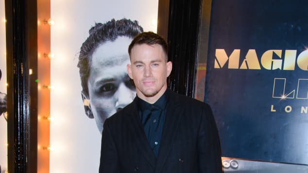 Channing Tatum at the opening night of Magic Mike Live