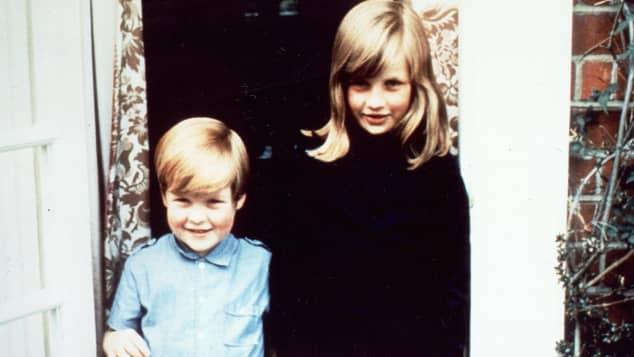 Charles Spencer and Princess Diana