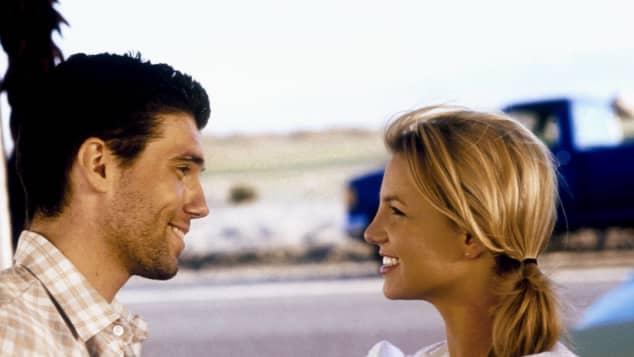 Britney Spears y Anson Mount en 'Crossroads'