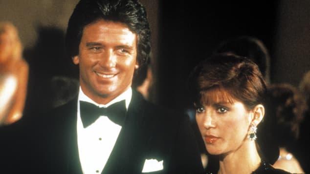 Patrick Duffy and Victoria Principal starred in the series, Dallas