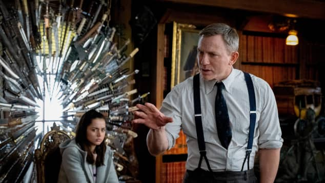 """Daniel Craig as Detective """"Benoit Blanc"""" in Knives Out."""