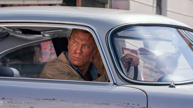 Daniel Craig stars in No Time to Die, set to be released in April 2020