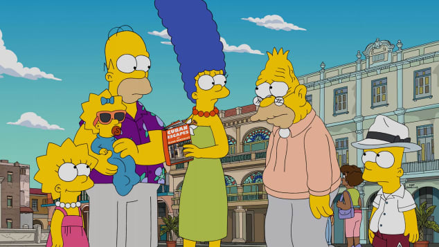 Elenco de personajes de The Simpsons Quiz