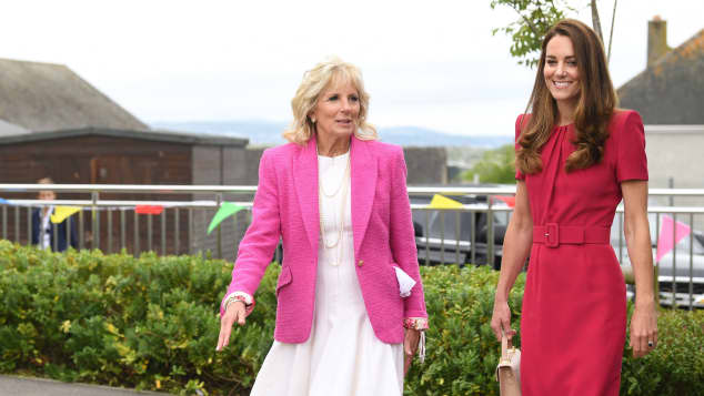 Duchess Kate and Jill Biden