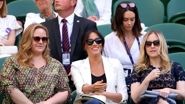 Duchess Meghan attends Wimbledon Finals Day 4 on July 4th, 2019