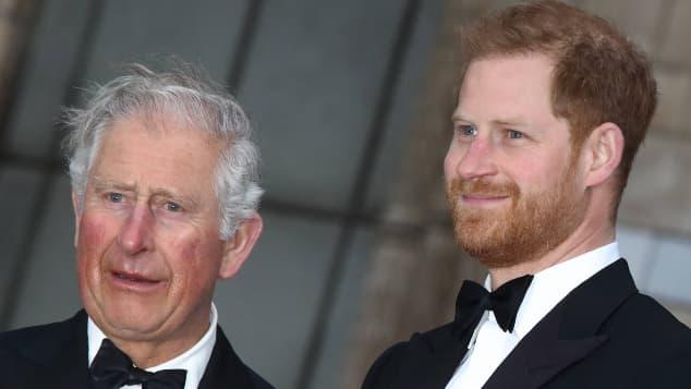 """Aún a la distancia, el príncipe Harry y el príncipe Carlos se mantienen """"unidos"""""""