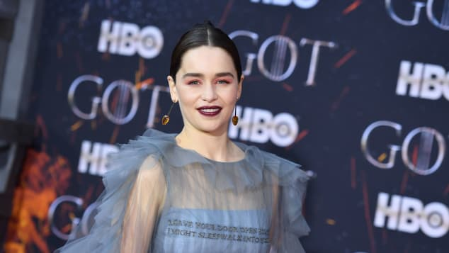 Emilia Clarke at the 'Game of Thrones' Premiere