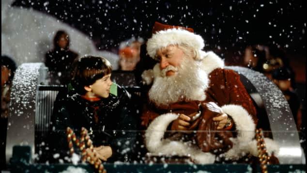Eric Lloyd and Tim Allen in Santa Clause