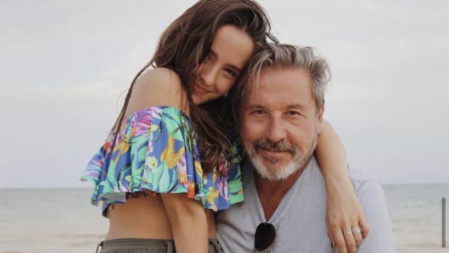 Ricardo Montaner y Evaluna Montaner