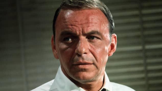 Todavía publicidad de Frank Sinatra en 1965