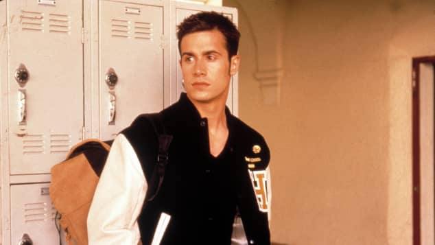 "Freddie Prinze Jr. in the movie ""She's All That"""