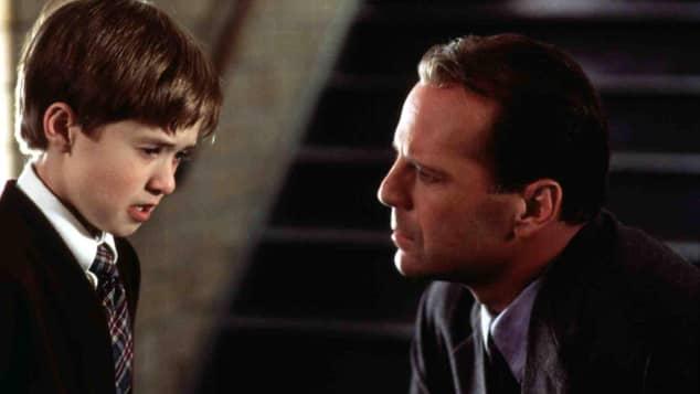 Haley Joel Osment y Bruce Willis en 'El Sexto Sentido'