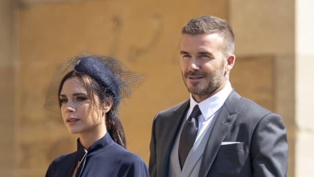 David Beckham y Vicoria Beckham