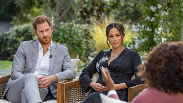 Duchess Meghan, Prince Harry, Oprah