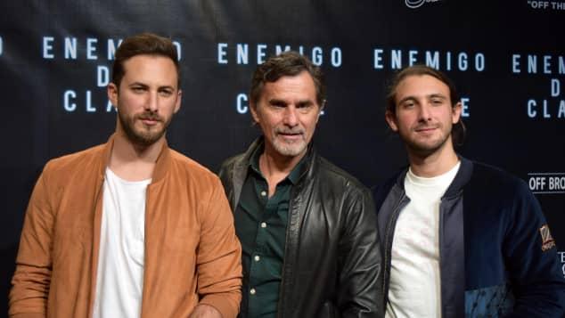 Sebastián, Humberto y Emiliano Zurita