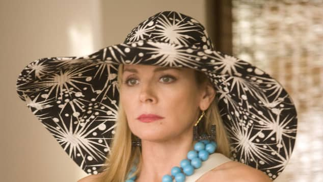Kim Cattrall en la versión cinematográfica de 2008 de Sex and the City
