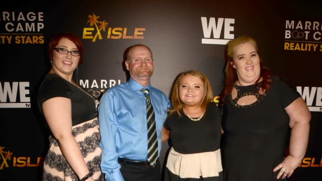 Mama June and family