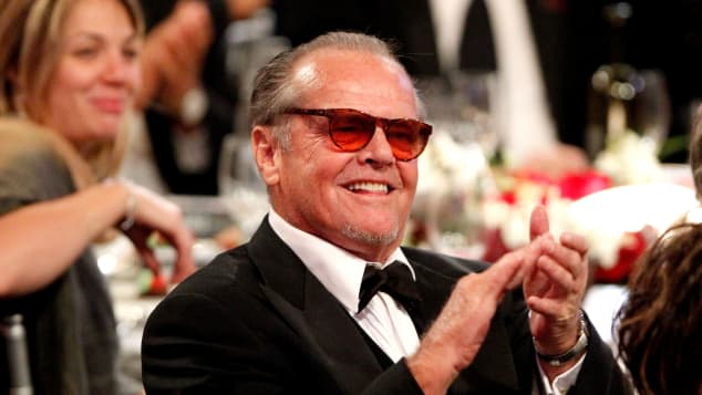 Jack Nicholson in the audience during the 38th AFI Life Achievement Award honoring Mike Nichols held at Sony Pictures Studios on June 10, 2010 in Culver City, California