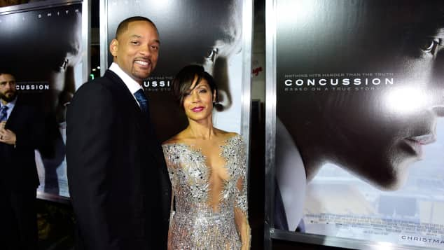 Will Smith and Jada Pinkett Smith got married over Christmas holiday period