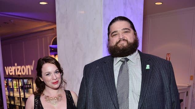 Jorge Garcia and Rebecca Birdsall